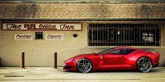 Ferrari Unveils 612 GTO Concept
