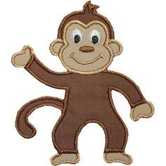 Free+Monkey+Applique+Design | Monkey Applique Design