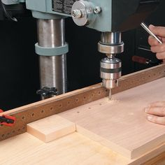 Precision Drill Press Fence | Woodsmith Tips
