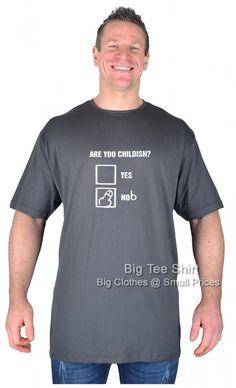 Slate Grey BTS Are You Childish T-Shirt 2xl 3x 4xl 5xl 6xl 7xl 8xl