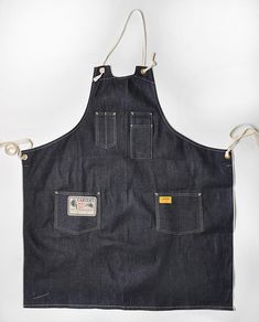 Denim Work Apron by the relaunched H.W. Carter & Sons, via acontinuouslean.com