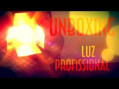 Unboxing Luz Profissional - EMVB 2013 - Emerson Martins Video Blog