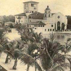 Addison Mizner's Everglades Club, Palm Beach  Dovecote Decor