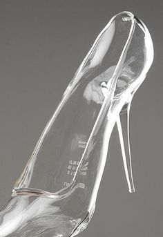 Cinderella shoes....we all wanted a pair...Maison Martin Margiela glass slippers