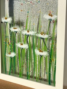 Fused Glass Art, Glass Vase, Garden Stakes, Glass Boxes, Enamels, Tree Designs, Box Frames, Glass Design, Beautiful Hands