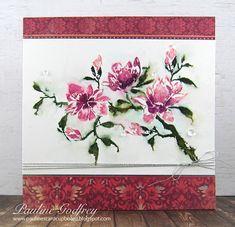 Pauline's Card Cupboard: Magnolia Rhapsody