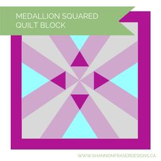 (7) Name: 'Quilting : Medallion Squared
