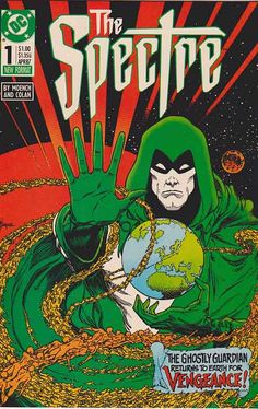 In his fourth solo series and second self-titled comic, the Spectre, under writer Doug Moench , Corrigan became the central figure in this s...