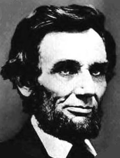 The last photo of Abraham Lincoln taken in Springfield on February 9, 1861, by C. S. German.