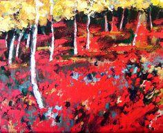 Artwork >> Catherine Suchocka >> the forest sold red