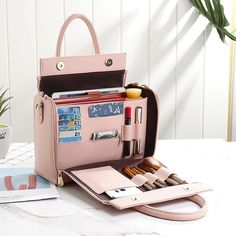 Brenice DREAME Women Solid Organiser Bag Multifunction Casual Shoulder Bag is designer, see other popular bags on NewChic Mobile. Sacs Design, Bag Women, Accessoires Iphone, Bag Organization, Cute Bags, Online Bags, Purses And Handbags, Luxury Handbags, Cosmetic Bag