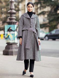 The Single Most Flattering Way to Wear a Turtleneck via @WhoWhatWear