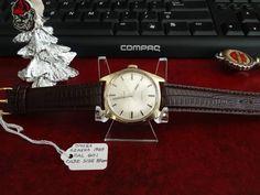 Vtg 1969 Omega Geneva 17-Jewels G.P. Cal 601 Swiss Watch w/ 18mm Leather Band #Omega #LuxuryDressStyles