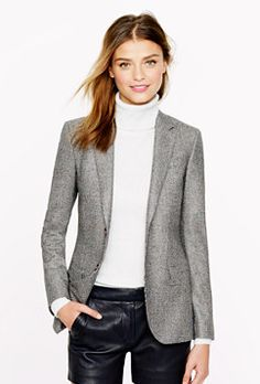 Classic blazer from J.Crew  Found in A Hijabi's Guide to Building the Perfect Wardrobe of 10 Essentials – Haute Hijab  www.hautehijab.com/blogs/hijab-fashion/13145685-a-hijabis-guide-to-building-the-perfect-wardrobe-of-10-essentials
