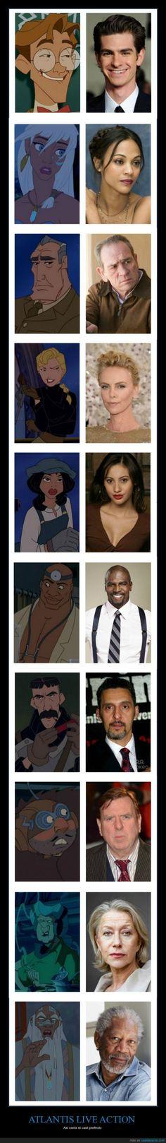 ¿Os acordáis de Atlantis? - Así sería el cast perfecto