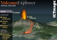 A good interactive stimulation of a volcano. Change the settings and see how the eruption changes. Note - If you are prompted to choose a country, click the X in the corner.