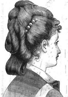 Причёски 1870-х