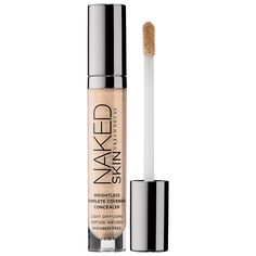 What it is:An innovative, high-coverage concealer that provides buildable, weightless coverage and leaves an invisible, Naked Skin finish. What it does:This concealer from Urban Decay lets you cover imperfections without looking covered up. It's eas