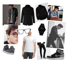 """boyyy"" by kokeny-dora on Polyvore featuring adidas, American Eagle Outfitters, Burberry, Nixon, Express, Diesel, NIKE, men's fashion and menswear"