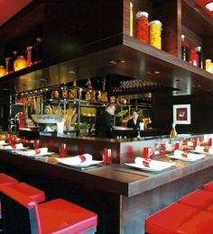 Creative Tonic loves. L'Atelier de Joel Robuchon - 10 Best Paris Restaurants - Marie Claire