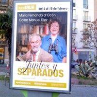 Publicidad mupis Valencia - JUNTOS Y SEPARADOS