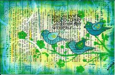 Stamp Laugh Play : Three Birds and the The Summer of Color 3