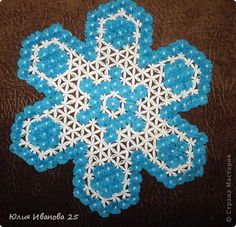 Мастер-класс Плетение Плетеная салфетка на деревянной рамке Нитки фото 32