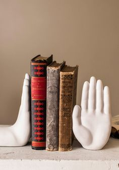 Gimme Five Bookends, #ModCloth