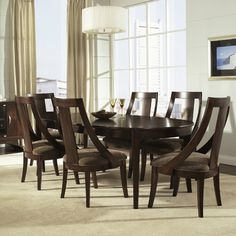 Somerton Dwelling Cirque 7 Piece Dining Set