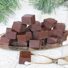 Fudge, Baking Sheet, All Things Christmas, Xmas, Treats, Chocolate, Sweet, Desserts, Drink
