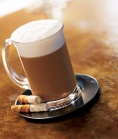 Pumpkin Cheesecake Latte recipe. Find all your favorite #syrups, #sauces and #espresso at coffeeshopdepot.com #pumpkinsauce #cheesecake #latte #coffee #coffeeshopideas