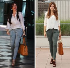 sofia-vergara-cargo-pants-olive-rich-and-skinny-leggings