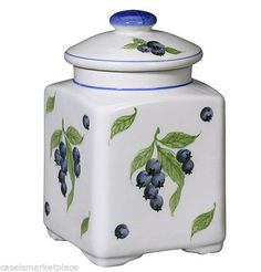 Haskell 39 s blueberries dover delaware canister coffee for Hearth and home designs canister set