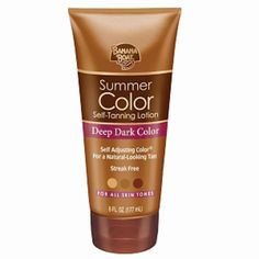 Best self tanners 2013 - banana boat summer color