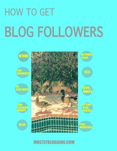 How to get thousands of blog followers quickly. Click to read how MostlyBlogging.com