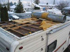 rv trailer water damage repair