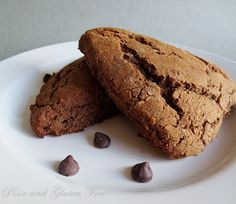Poor and Gluten Free (with Oral Allergy Syndrome): Gluten Free Chocolate Carrot Scones