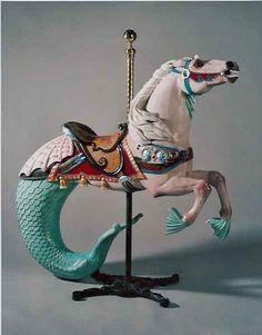 Hippocampus carousel horse