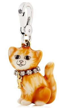 Juicy Couture Orange Cat Charm 2012