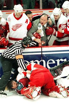 Chris Osgood  vs Patrick Roy, THIS is greatness! Baseball Cards, Sports, Fictional Characters, Hs Sports, Excercise, Fantasy Characters, Exercise, Sport