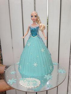 Frozen, Elsa, Dolly Varden Cake