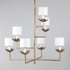Buy Vaughan / Chandelier / Colombier at Select Interior World ✅ Only original products ⏩ Free worldwide shipping! Contemporary Chandelier, Contemporary Interior, Nook, Ceiling Light Fixtures, Ceiling Lights, Vaughan, Brass Chandelier, Chandeliers, Kitchen Chandelier