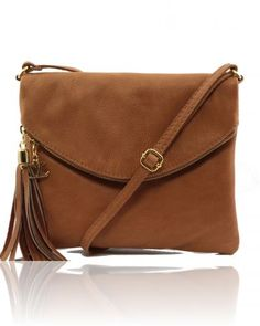Tl Young Tl141153 99 Perfect For The Weekend Genuine Italian Leather Shoulder Bag