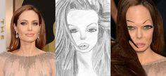 Et si les célébrités ressemblaient aux dessins ratés de leurs fans ?