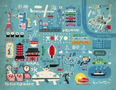 Tea Lipton, Artwork by Carles Ballesteros