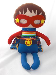 Hey, I found this really awesome Etsy listing at https://www.etsy.com/listing/104579555/super-hero-doll-boys-doll-boys-softies