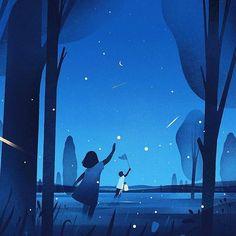 By { @strautniekas } - 'Chasing the Light' . Tag #designarf to featured! . #design #designer #amazing #graphicdesign #graphic #illustration #illustrator #art #poster #instagood #artwork #vectorart #vector #beautiful #digitalart #sketch #draw #color #like #picoftheday #repost #amazing #moment #inspiration #minimal #flat #creative #icon #night
