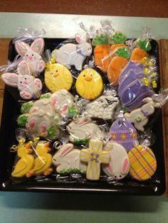 Janice Weber Kowal:  Easter cookie assortment.   Beautiful!