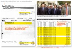 Trama corrupta facturó viajes a Aznar cuando era presidente