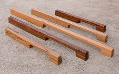 TIRAR - SPOTTED GUM SOLID TIMBER DOOR PULL on Behance